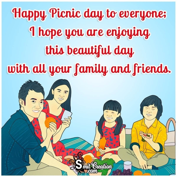 Happy Picnic Day Greetings For Whatsapp