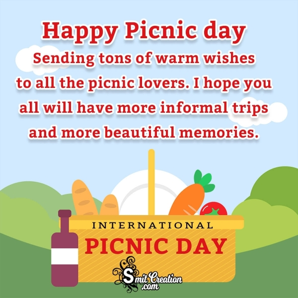 Happy Picnic Day Greetings