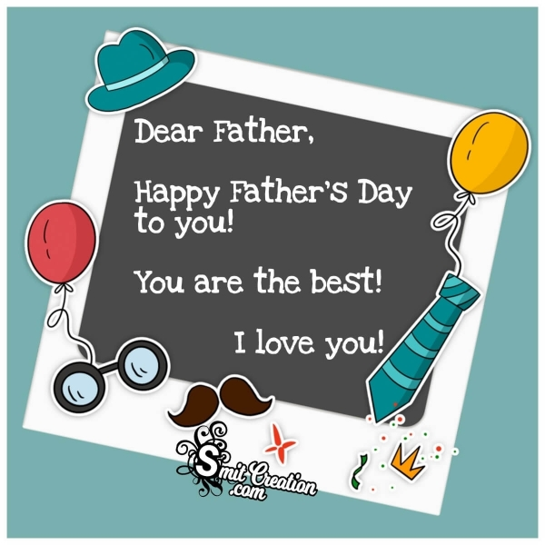 Happy Father's Day Wish Image