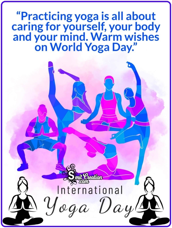 Happy International Yoga Day Messages