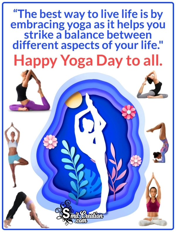 International Yoga Day Messages in English