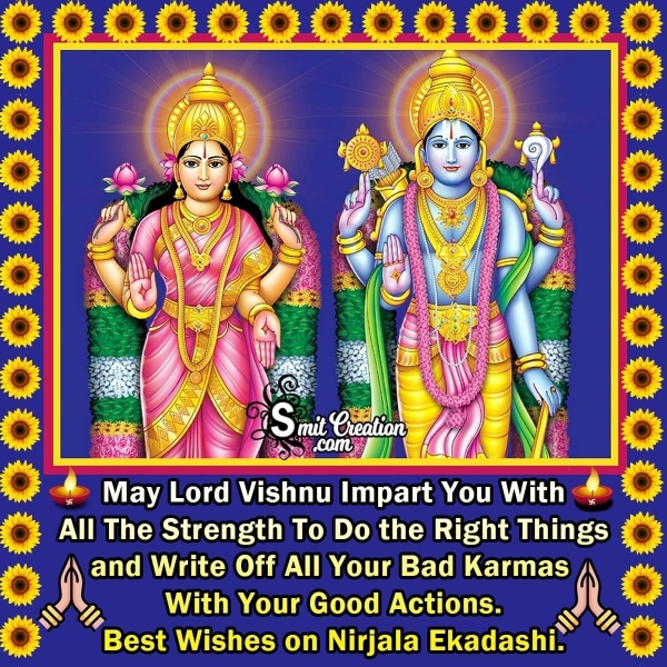 Best Wishes on Nirjala Ekadashi