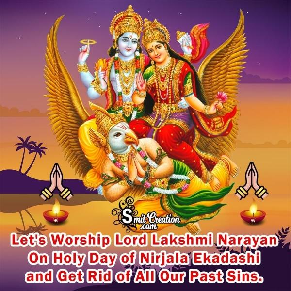 Nirjala Ekadashi Quote Image