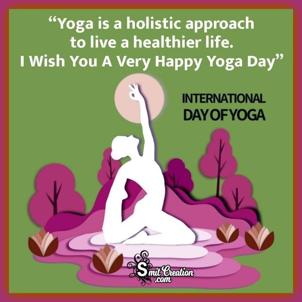 Happy International Yoga Day Wishes