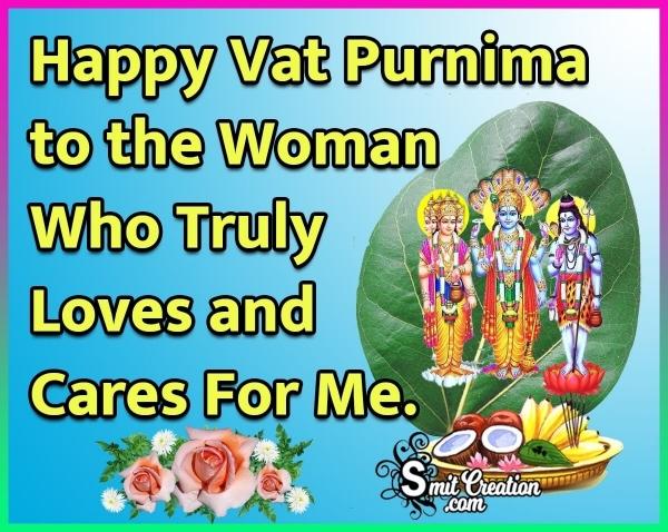 Happy Vat Purnima Image For Wife