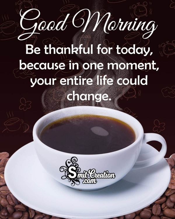 Good Morning Thank You Quotes Images
