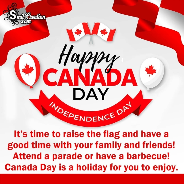 Happy Canada Day Wish For a Canadian Friend