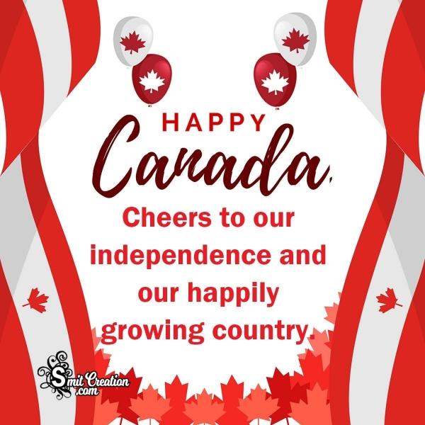 Happy Canada Day Wish