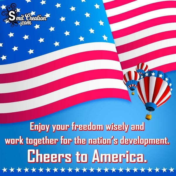 4th of July Wish For a Colleague