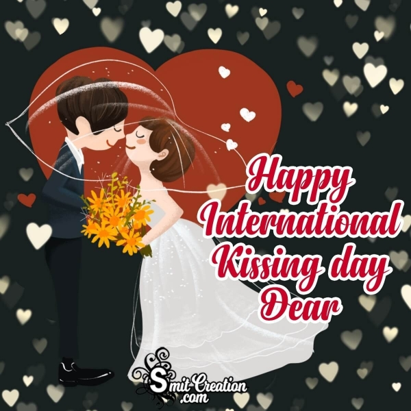 Happy International Kissing Day Image For Wife