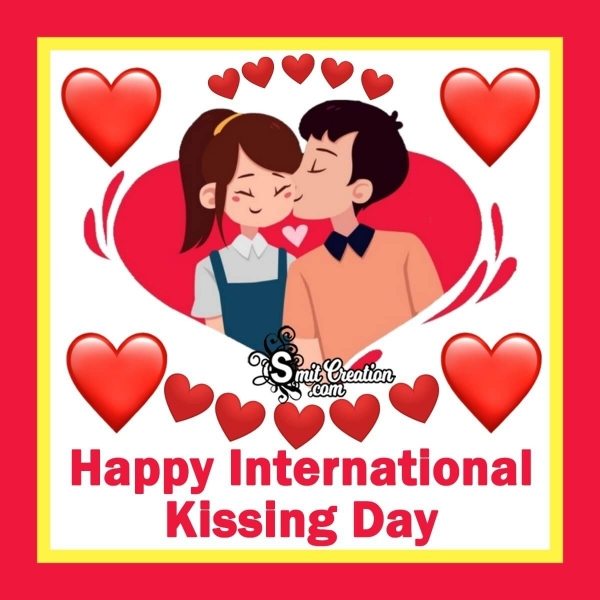 Happy International Kissing Day For Lovers