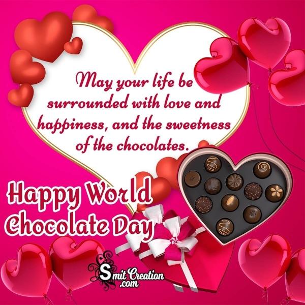 Happy World Chocolate Day My Dear Friend Wishes