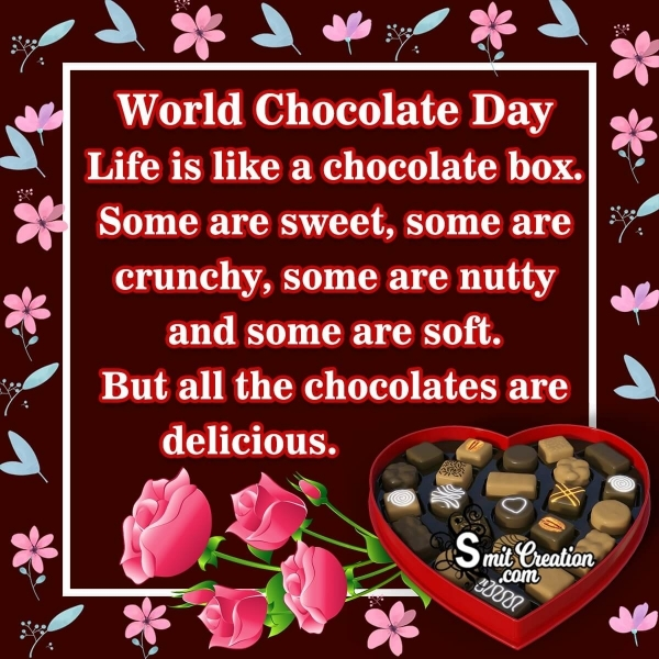 World Chocolate Day Messages