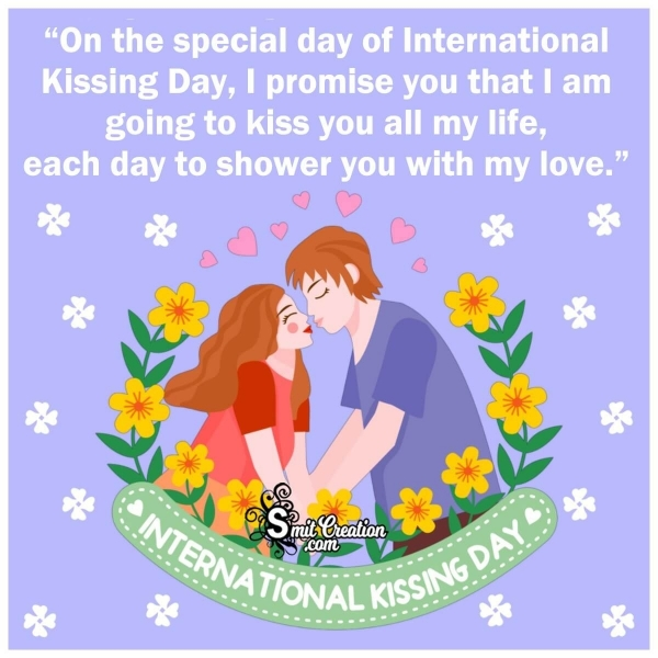 International Kissing Day Wishes