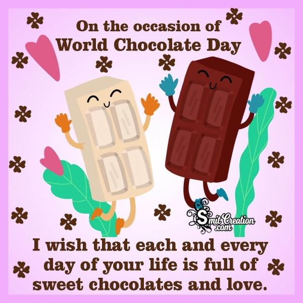 World Chocolate Day Wishes