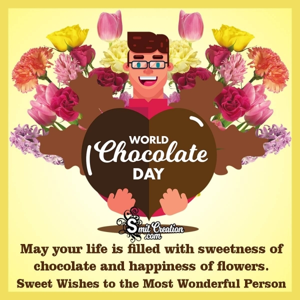Sweet Wishes On World Chocolate Day
