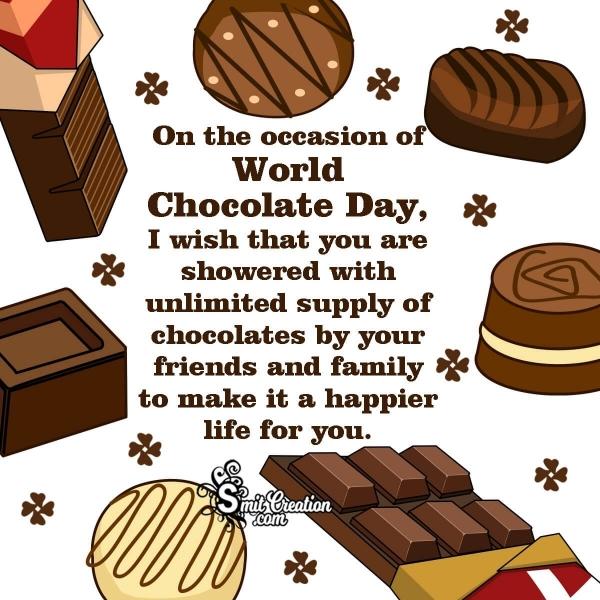 World Chocolate Day Message