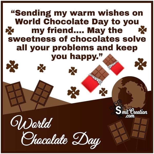 World Chocolate Day Wishes For Friends