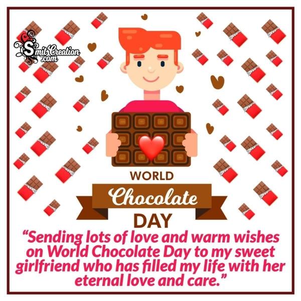 Happy World Chocolate Day For Girlfriend