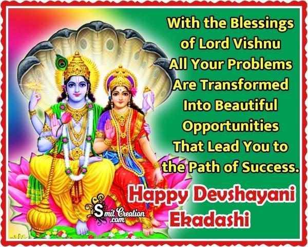 Devshayani Ekadashi Blessings