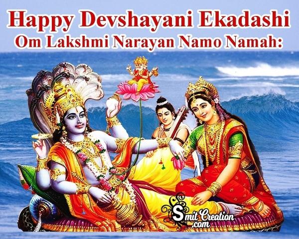 Happy Devshayani Ekadashi Image