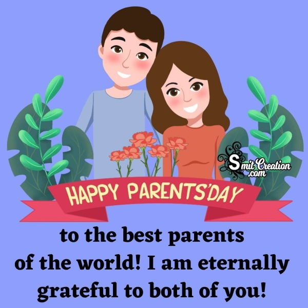 Parents Day Wishes From Son
