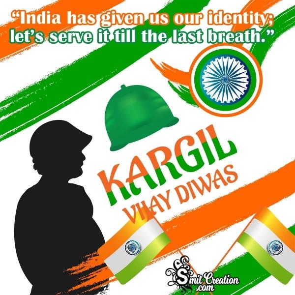 Kargil Vijay Diwas Slogans in English