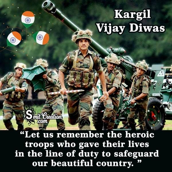 Kargil Vijay Diwas Wishes in English