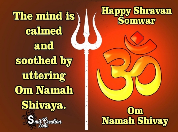 Happy Shravan Somwar Status for Whatsapp