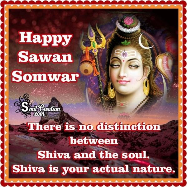 Happy Sawan Somwar Status