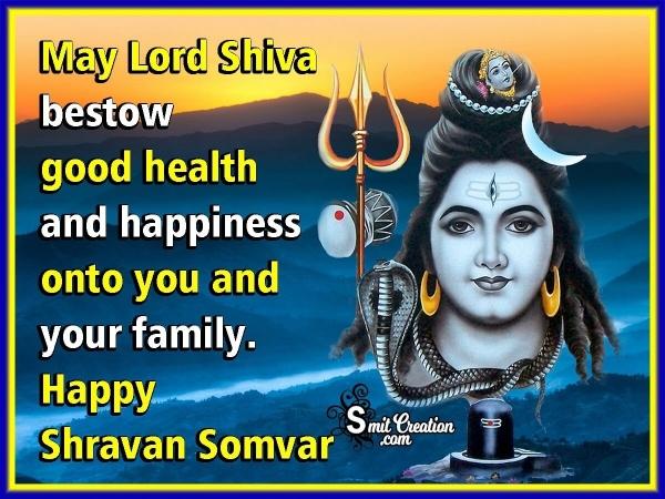 Happy Shravan Somwar Wish Image