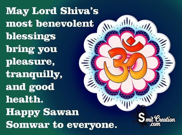 Happy Sawan Somwar To Everyone