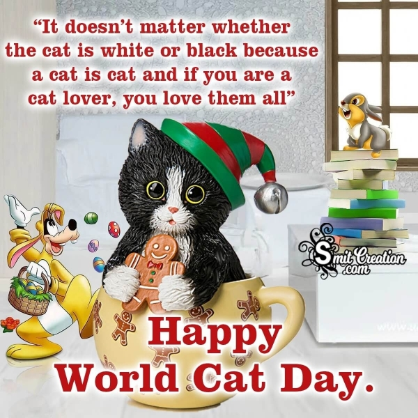 World Cat Day Messages
