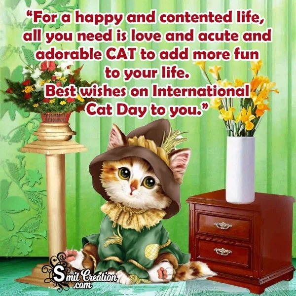 International Cat Day Wishes