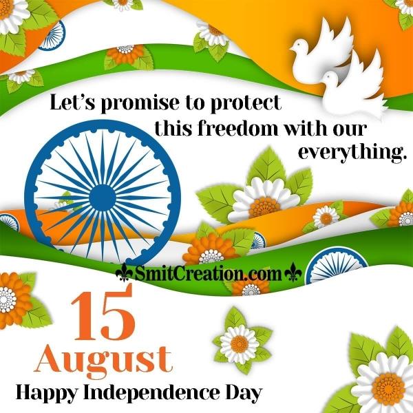 Wonderful Independence Day Wish
