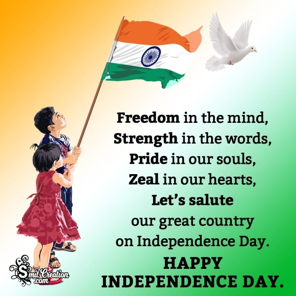 Happy Independence Day Quote For Whsatsapp