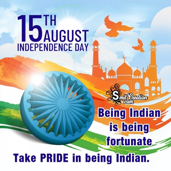 15 August Independence Day Status for Whatsapp