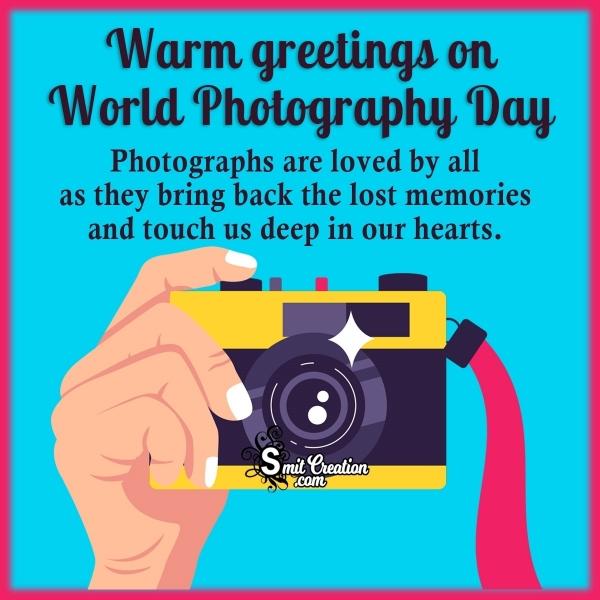 World Photography Day Status