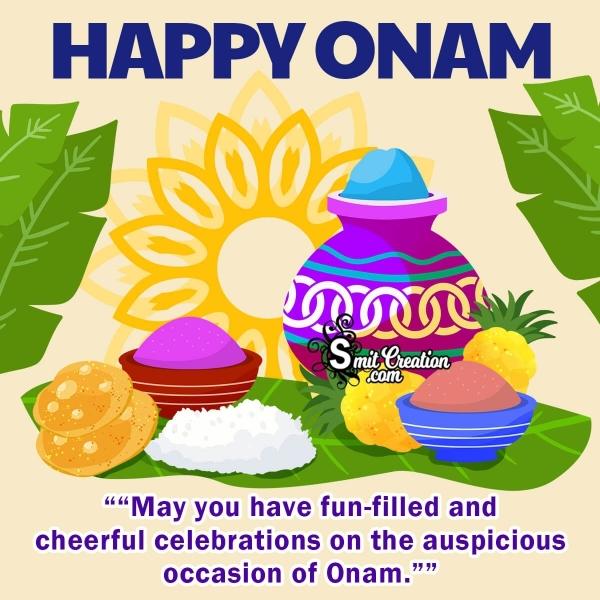 Happy Onam Whatsapp Wishes