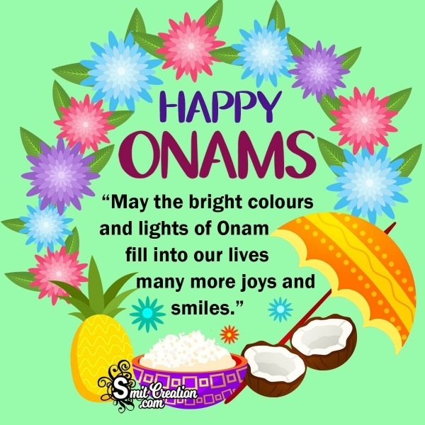 Happy Onam Messages for Whatsapp