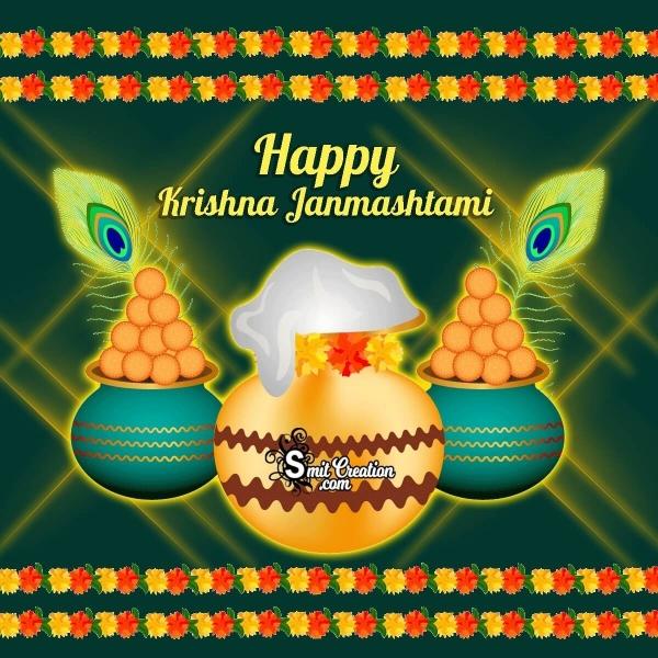 Happy Krishna Janmashtami Greeting