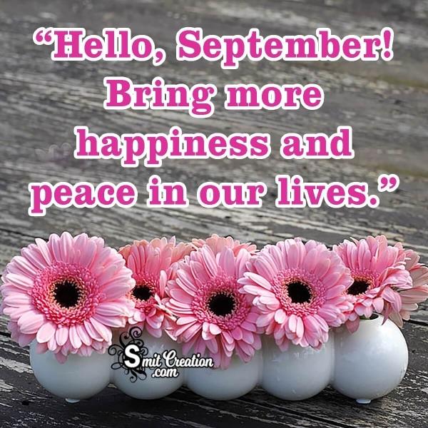 Hello September! Image