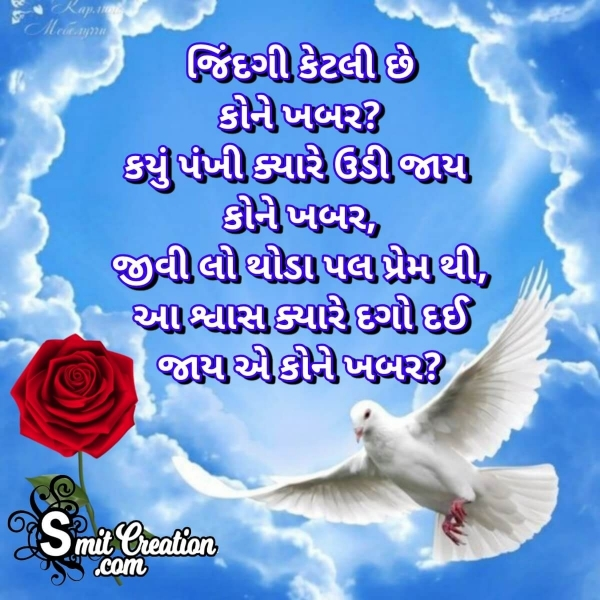 Life Quotes With Images In Gujarati