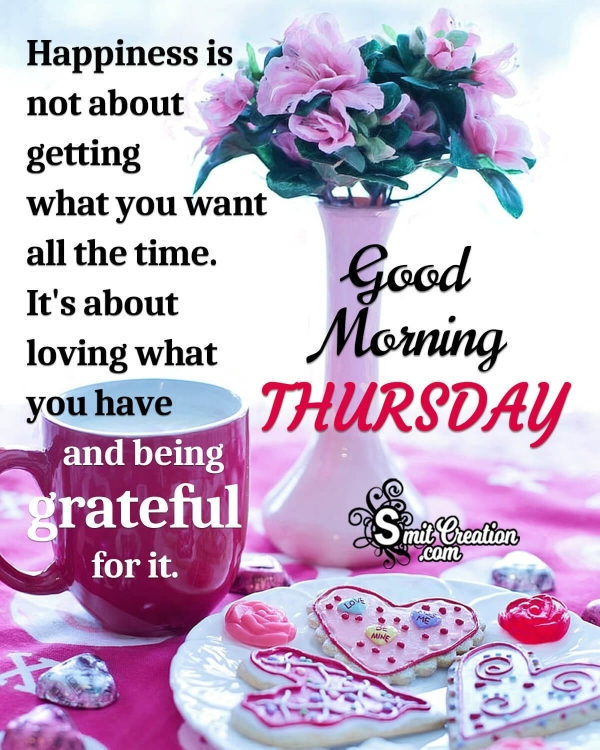 Good Morning Thursday Quote