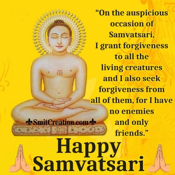 Happy Samvatsari Wish Image