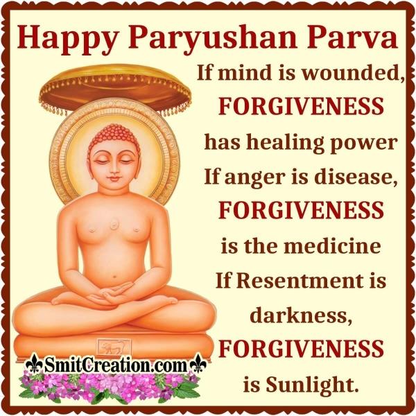 Happy Paryushan Parva Messages