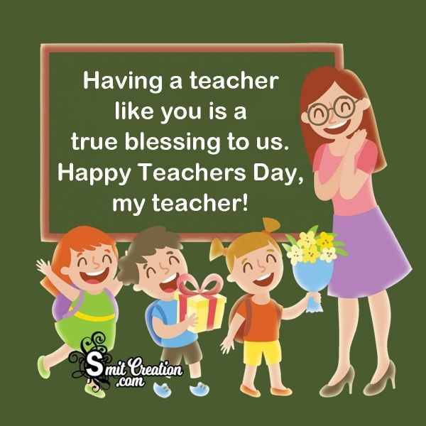 Teacher's Day Wishes From Students