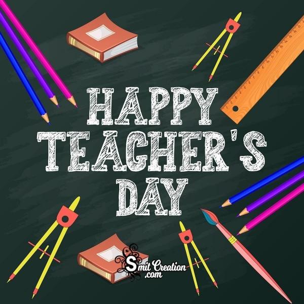 Happy Teacher's Day Greeting Card