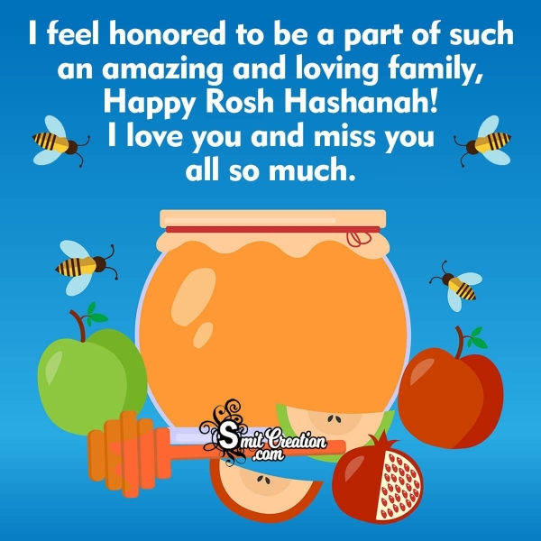 Rosh Hashanah Wishes for My Family