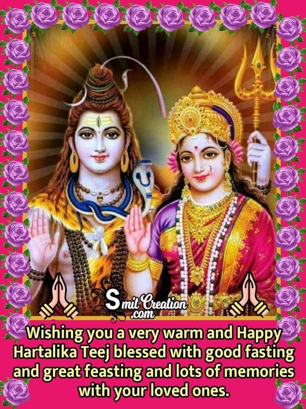 Happy Hartalika Teej Wishes Photo